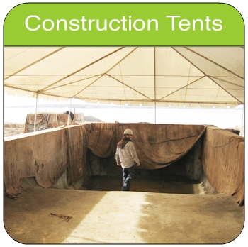 Construction Work Tent